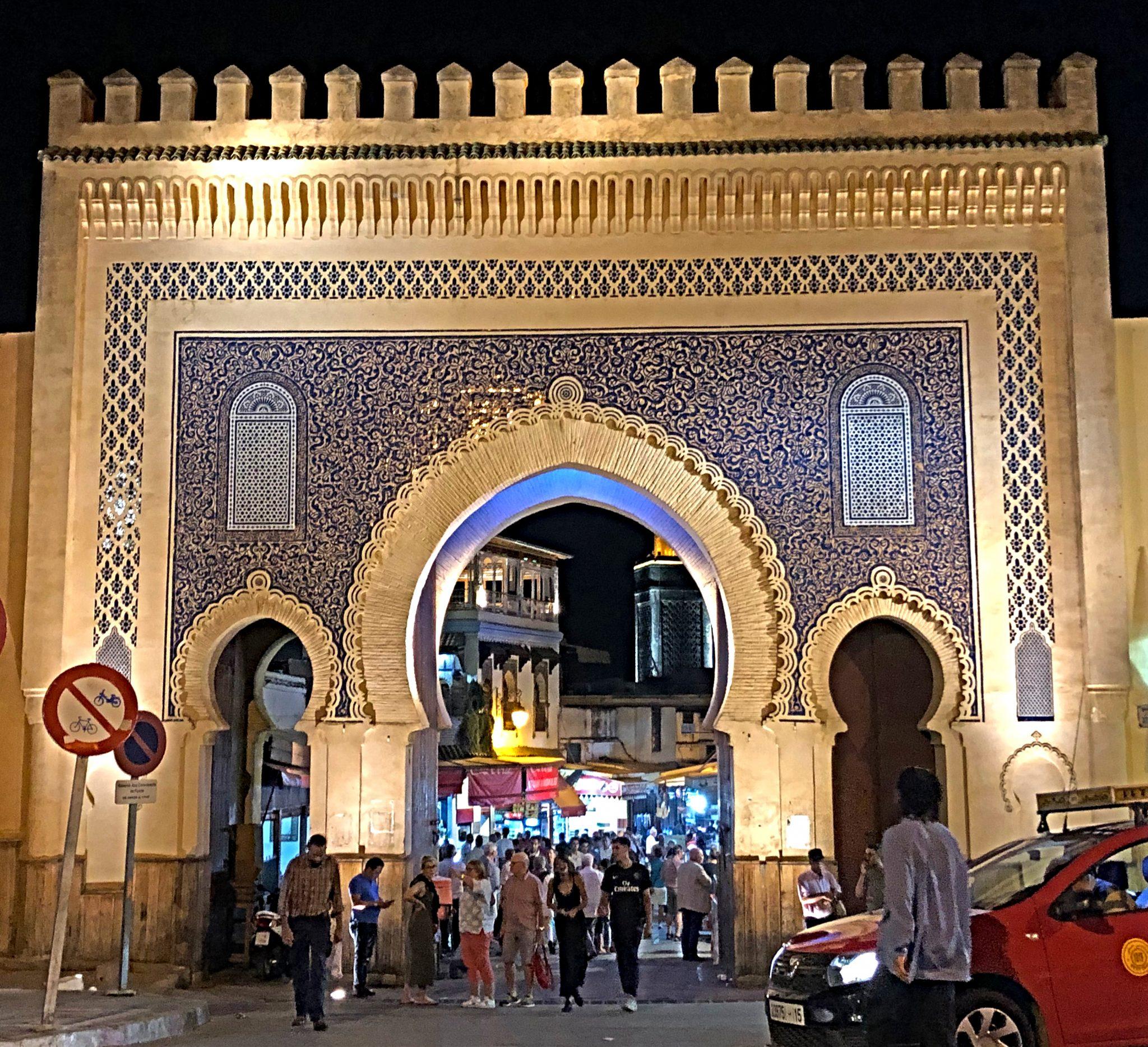 Img post Tres días en Fez. Puerta Azul Bab Bou Jeloud - PASAPORTE Y MILLAS