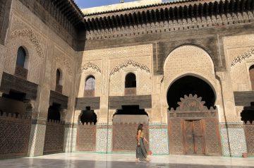 Tres días en Fez. Madraza Bou Inania - PASAPORTE Y MILLAS