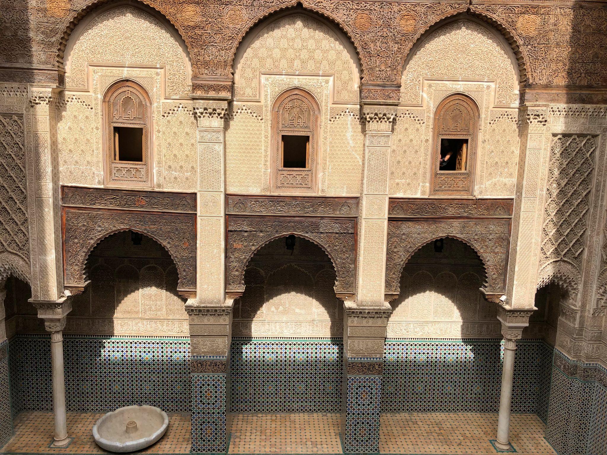 Tres días en Fez. Medersa Attarine - PASAPORTE Y MILLAS
