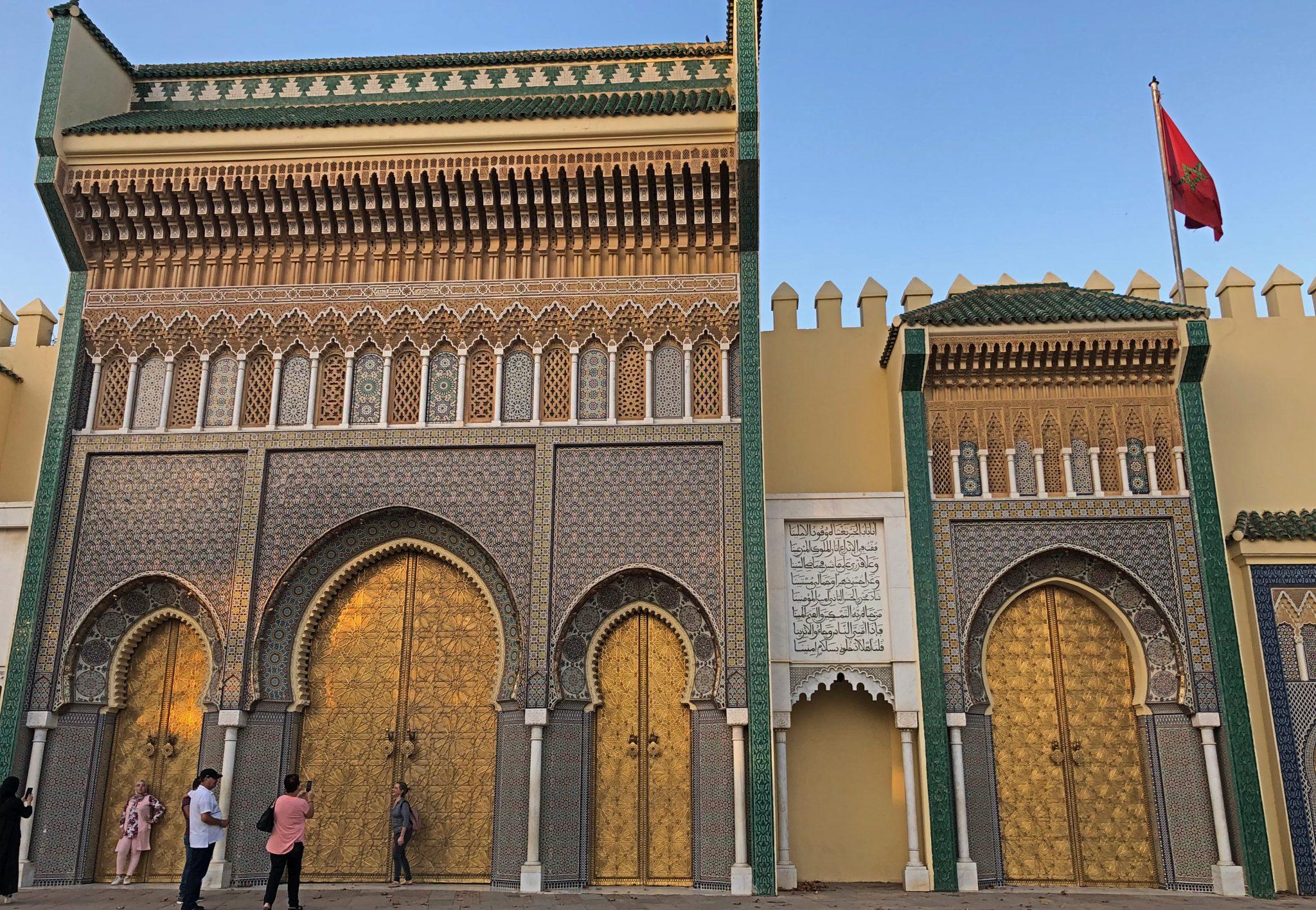Tres días en Fez. Palacio Real Fez - PASAPORTE Y MILLAS